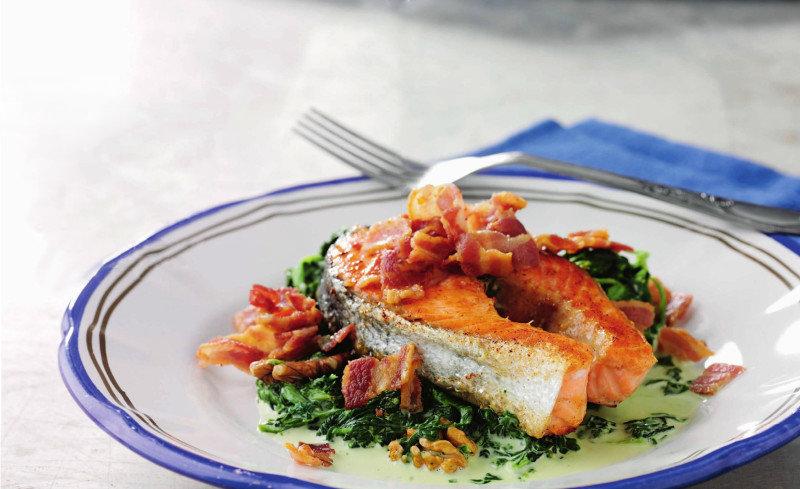 frokost med lavt kulhydrater og højt fedt