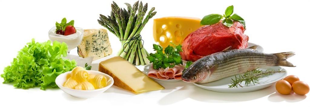madvare med lavt indhold af kulhydrater