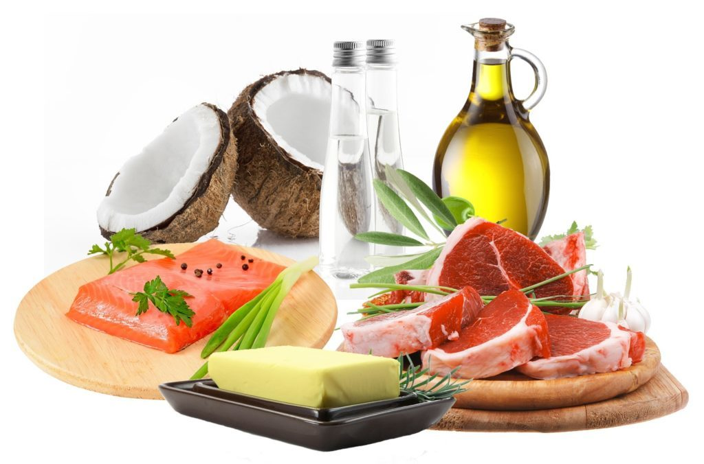 oliven kokos olie smør og fed fisk