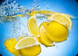 citron i vand