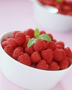 Hindbær som slankemiddel i skål