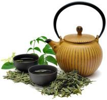 grøn te piller