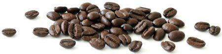 kaffebønner på bord