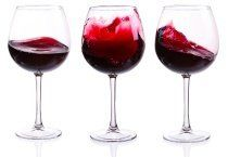3 forskellige slags vin