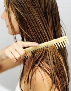 kokosolie hår