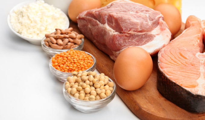 slankemad - spis proteiner