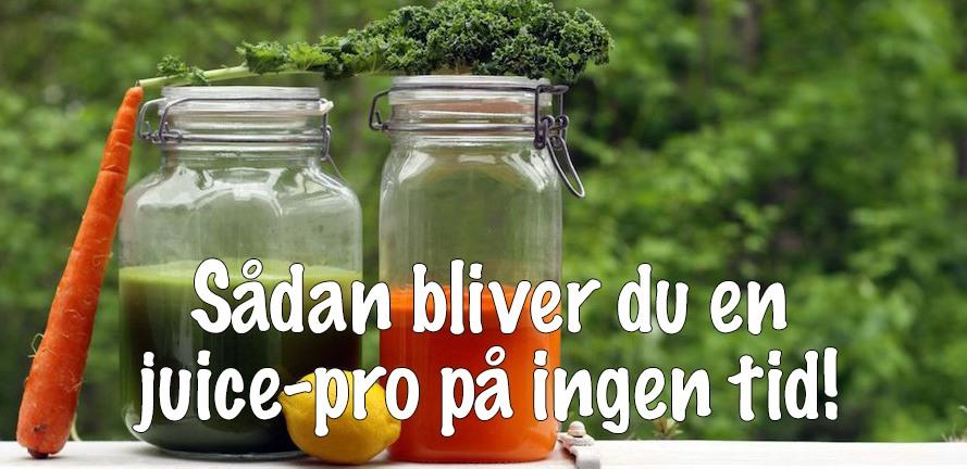 frisk og sundt juice for detox