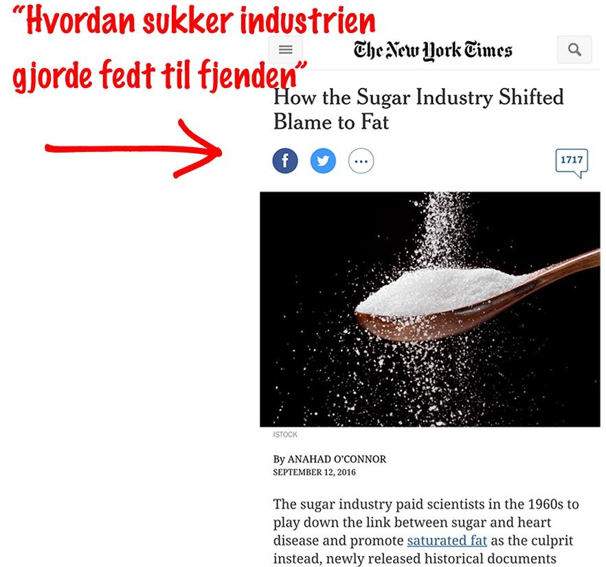 sukkerindustrien løj