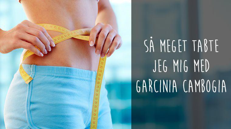 vægttab med garcinia cambogia slankepiller