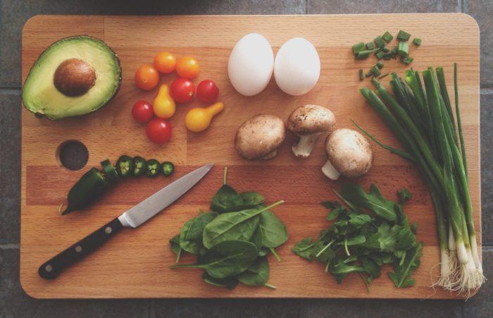 hjælp til vægttab - grøntsager til slankekost