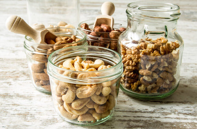 nødder og fedt