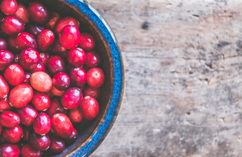 friske goji-bær i skål