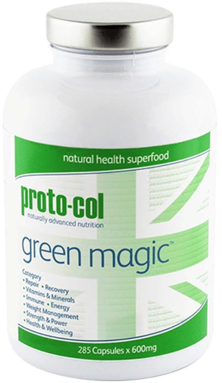 Green magic slankepiller