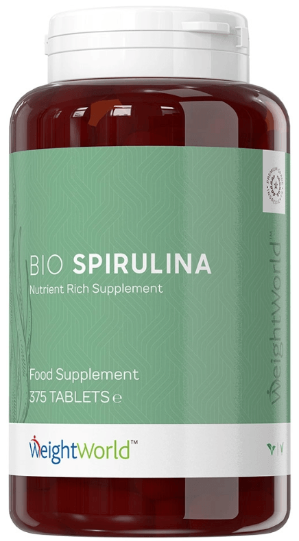 Spirulina tabletter